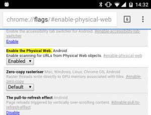 enablephysicalweb