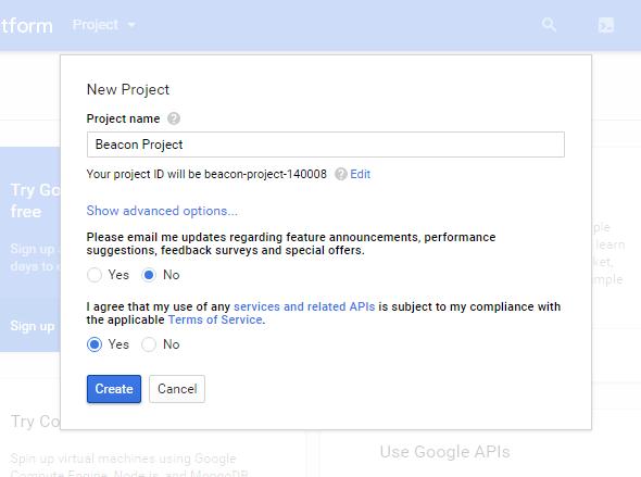 googlelcoudcreateproject2