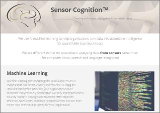 Sensor Cognition