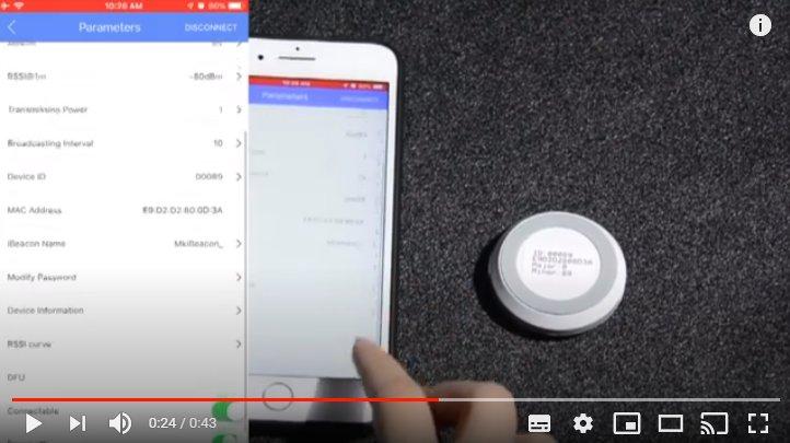 iBeacon video