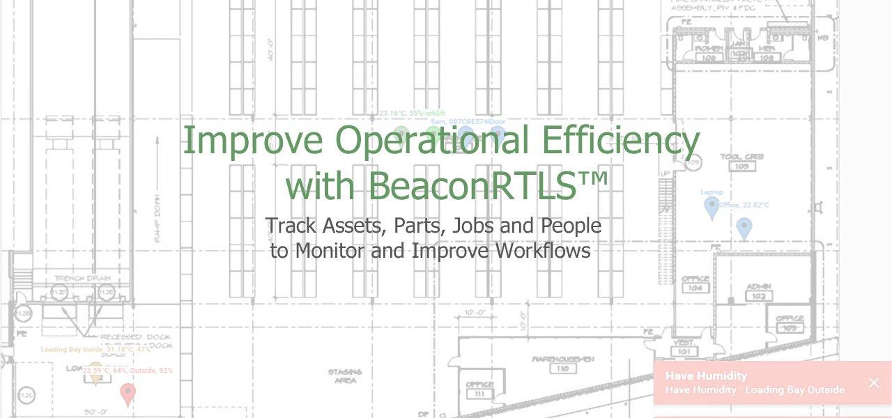 Bluetooth Beacon RTLS
