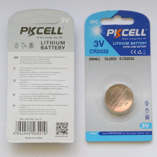 PKCell CR2032 Lithium Battery