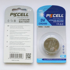 PKCell CR2450 Lithium Battery
